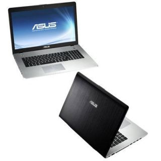New Asus 17 3 Notebook Intel Core i7 GHz Black GB RAM HD DVDRW Webcam