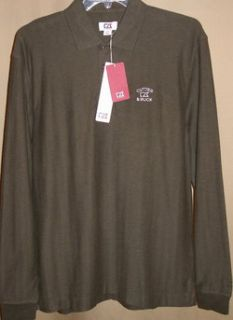 CUTTER and BUCK tour long sleeve atwell Polo XL(Forest/Heather)