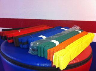 Martial Arts Belts for Karate Taekwondo Size 1 7
