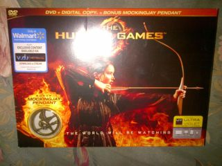 The Hunger Games Collector/Gift Set DVD, Books, Totebag, Mockingjay