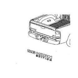 2005 2007 Dodge RAM Big Horn Edition Emblem 55078108AA