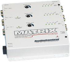 AudioControl Matrix Plus White Car Audio Stereo Six 6 Channel 6CH Line