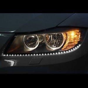 LED Headlight Strips Like Audi for Car Truck SUV 2 Strip Kit Universal