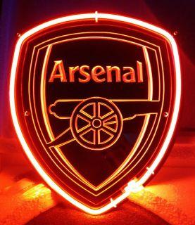 SB185 Arsenal Club Football Team Beer Bar Display Neon Light Sign