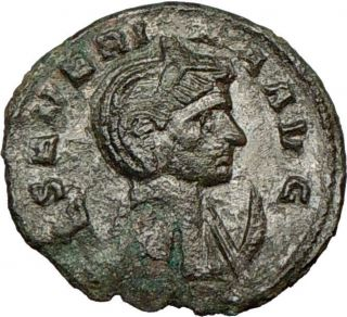 SEVERINA wife of AURELIAN 275AD Ancient Roman Coin Concordia Marital