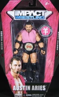 DOUBLE AUSTIN ARIES RINGSIDE EXCLUSIVE TNA IMPACT JAKKS TOY