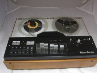 BEOCORD 1200 4 track REEL TO REEL TAPE RECORDER  sound on sound