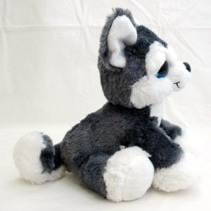 10 Aurora Plush Husky Puppy Dog Stuffed Animal Toy New