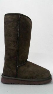 Aussie Dogs Coaster Tall Boot Womens Solid Casual Boots 7 Medium M