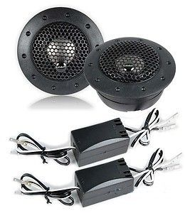 audiobahn at61j 19mm titanium dome tweeters ferro fluid cooled and