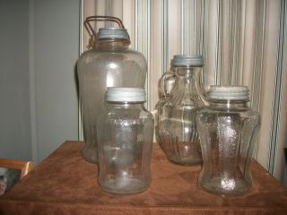 COLLECTION OF RARE AUTHENTIC COLLECTION OF SPEAS U SAV IT JARS