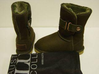 New Girls Ausralia Luxe Love Kids Boo Shoe Sz 9 10