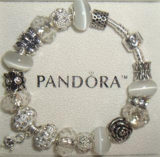 Authentic Pandora Purity Charm Bracelet