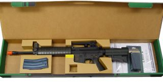 Force Full Metal Retractable Stock Electric Airsoft Rifle AEG