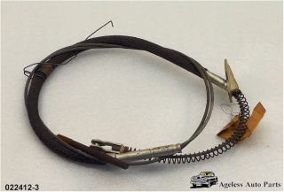 Emergency Brake Cable Chevrolet 1941 1942 1946 1947 1948 1949 1950
