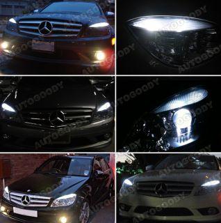 2X White LED Parking Eyelid Light Bulbs Error Free