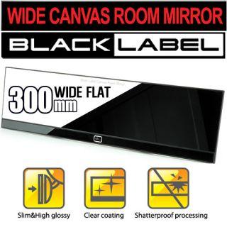 Blacklabel Wide Canvas 300mm Car Auto Rear View Rearview Mirror