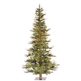 Vickerman Ashland Fir 48 Artificial Christmas Tree with Clear Lights