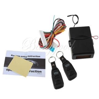 Control Central Door Lock Kit Locking Keyless Entry System