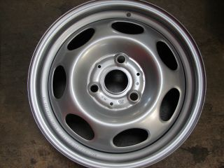 15 15x4 5 Smart Car 3 Lug Steel Wheels Rims