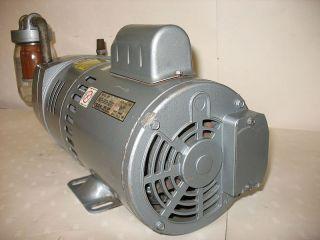 Gast Vacuum Pump 0823 101Q G271X 1 2 HP 115 230 Filter