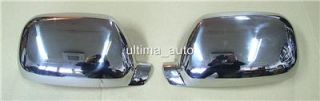 Chrome Mirror Covers Set Steel for VW Touareg 03 07 New