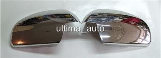 Chrome Mirror Covers Set Steel for Vauxhall Vectra C