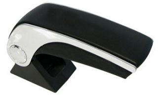 Brand New Chrome Black Vinyl Car Interior Armrest