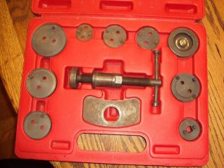 Automotive Rear Disc Brake Service Tool Kit Caliper Piston BrakePad