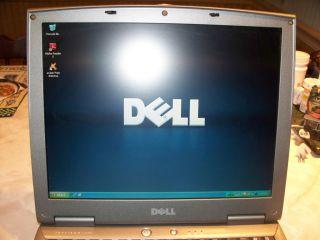 Dell Inspiron 1150 Laptop 2 8GHz Pentium 4 768MB RAM Windows XP DVD