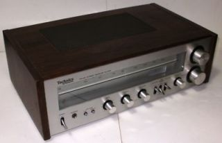 Audio Equipment Receiver Panasonic Technics SA 200 Am FM Tested
