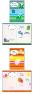 Birthday Wishes Box of 12 Assorted Birthday Cards with Scripture