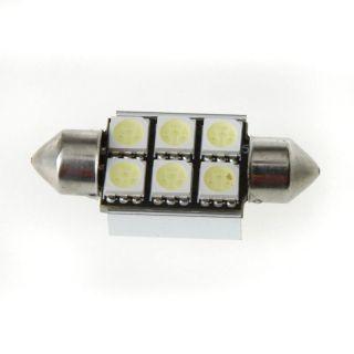 LED Car Interior Bulbs Automotive Dome Festoon Light Lamp White