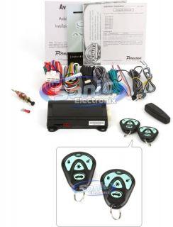 Avital 4103LX 1 Way Remote Start System w Keyless Entry