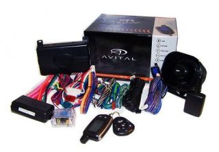 Avital 5303 Car Alarm Remote Start System Keyless Entry 2 Way Pager