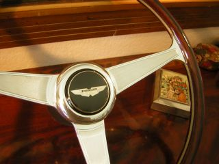 Aston Martin V8 Vantage Nardi Wood Steering Wheel New