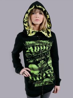 Avril Lavigne BLAST FROM THE PAST ABBEY DAWN BFH LEOPARD HOODIE