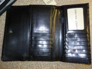Audrey Brooke Hair Calf Zip Around Wallet