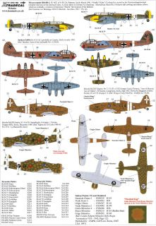 Xtra Decals 1 72 The Battle for Malta The Axis Air Forces