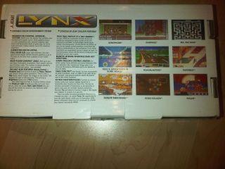 LNIB Atari Lynx II Handheld w Manual Box SEALED Game