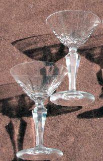 ) Baccara Champagne/Marini Glasses Auserliz Paern 5 7/8 all