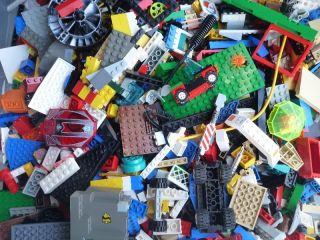 LEGO 500 Bricks pieces Blocks Baseplates Wheels CITY TOWN BULK Mix