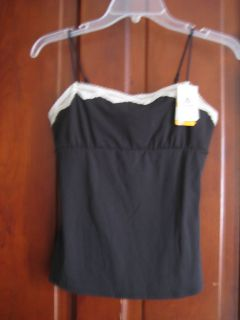 temptD Wacoal Soft Touch Lace Black Camisole Cami