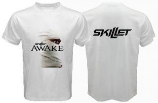 Skillet Awake T Shirt Alternative Rock Band White Tee s 3XL