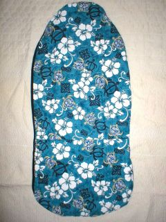 Honu Hawaiian Quilt Car Seat Covers & Bench Cover Blue