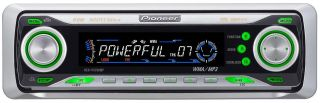 Pioneer DEH P5700MP Car Stereo Am FM XM Sirius CD MP3 iPod Aux Zune