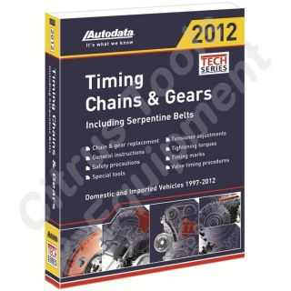 Autodata 12 170 2012 Timing Chains & Gears Manual 1997   2012
