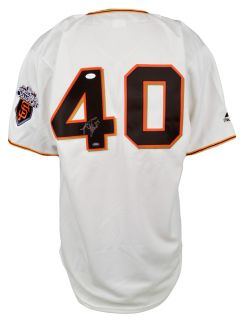 Madison Bumgarner Autographed 2011 World Series Champions Replica