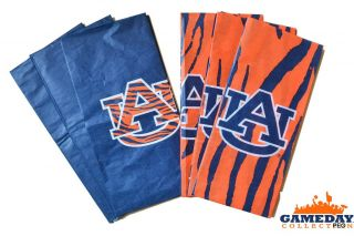 Auburn Tigers Tissue Paper Orange Blue War Eagle Tiger AU