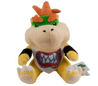 New Nintendo Super Mario Baby Bowser Plush Figure